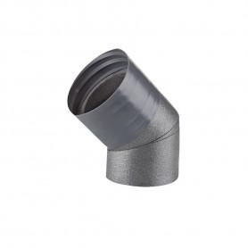 Coude 45° avec manchon Ø160 mm - IP-B 160/45 - IN50+ WineMaster