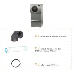 Kit d'installation pour climatiseur WineMaster IN50+