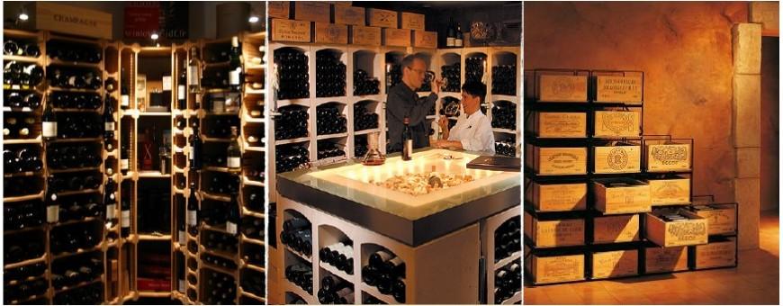 Casiers & Meubles de rangements pour cave à vin